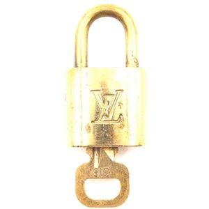 Lock Keepall Speedy Alma Brass and Key Set #316